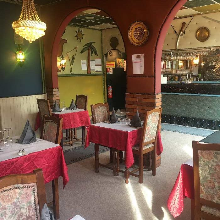 Salle restaurant l'Auberge Agadir à Ferrières-en-Bray cuisine du monde