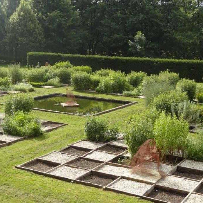 Jardin de l'Abbaye Notre-Dame Fontaine-Guérard à Radepont Culture et Patrimoine