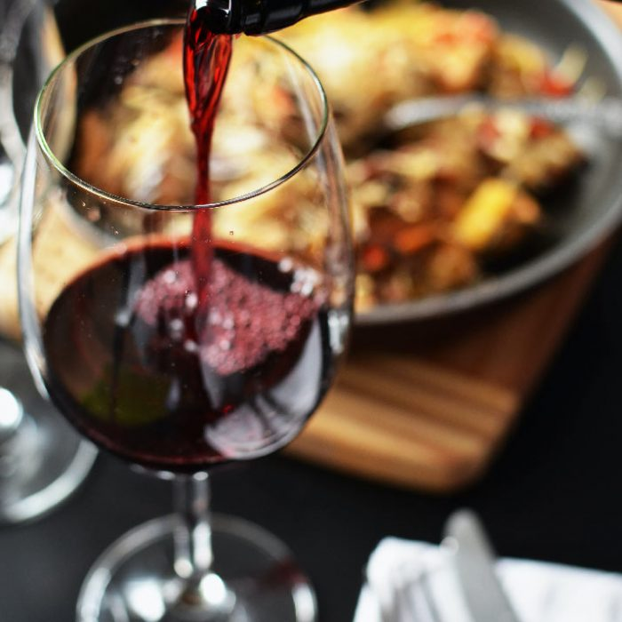 verre de vin bistro brasserie