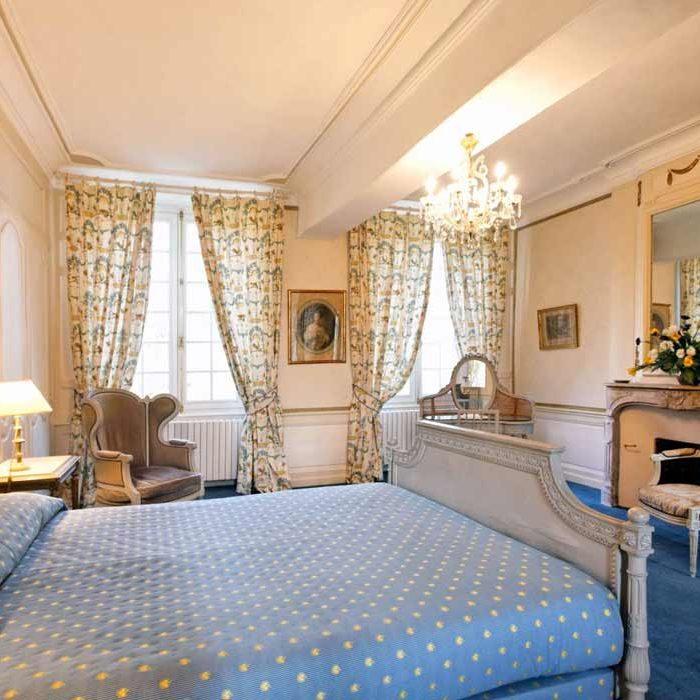 Chambre au Château du Landel à Bézancourt hôtel