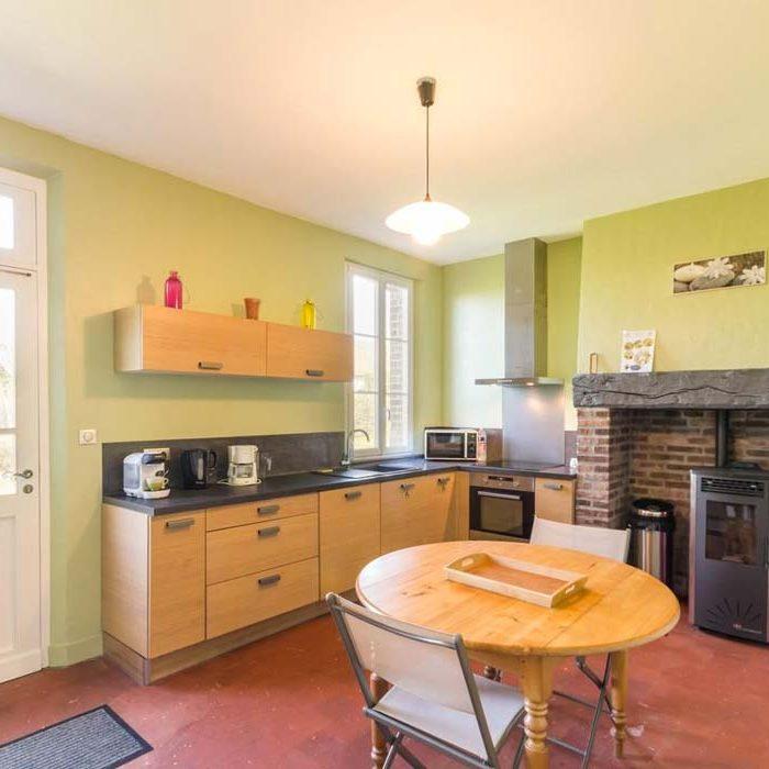 Cuisine au gîte de la Presle à Beaubec-la-Rosière gîtes et meublés