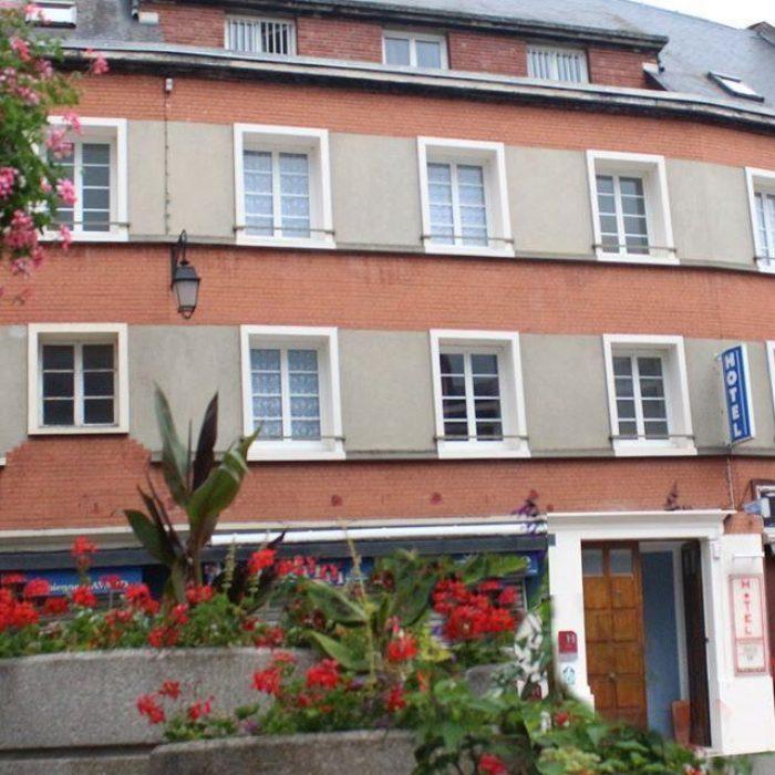 Façade Hôtel de Normandie à Gournay-en-Bray