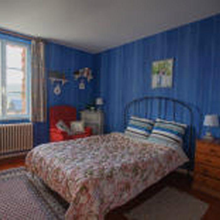 Vue chambre à La Tourelle à Vascoeuil chambre d'hôtes