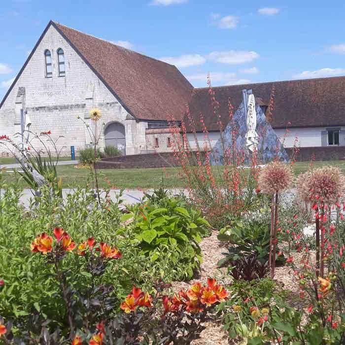 Vue extérieure de la Maladerie Saint-Lazarre à Beauvais Culture et Patrimoine
