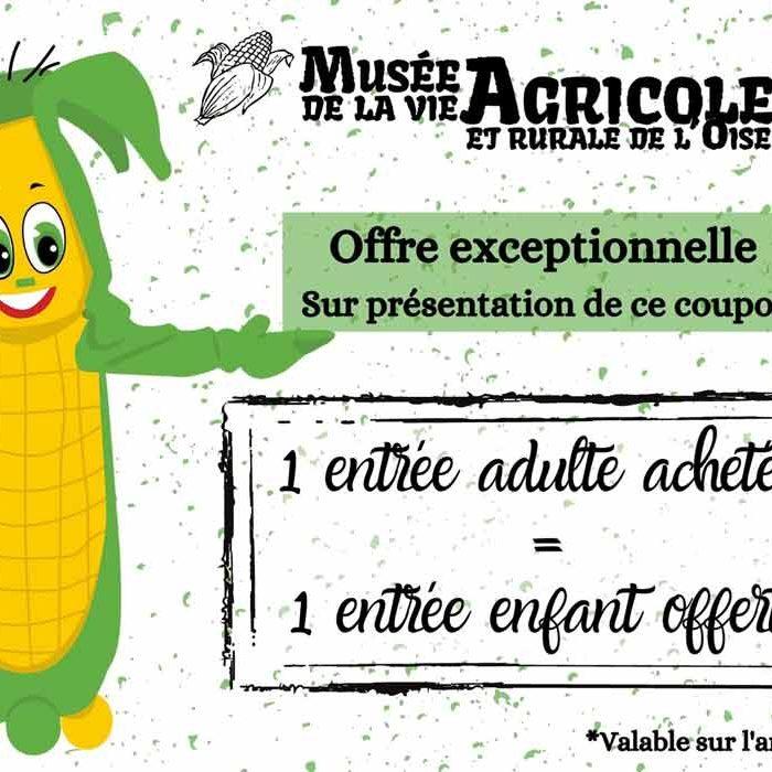 Flyer Musée de la Vie Agricole et Rurale de l'Oise à Hétomesnil Culture et Patrimoine